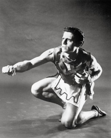 "Edward Villella in George Balanchine's ""Prodigal Son."" Photograph courtesy of PhotoFest"