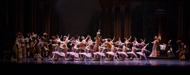 "Boston Ballet in the Prologue of ""The Sleeping Beauty."" Photograph by Rosalie O'Connor"